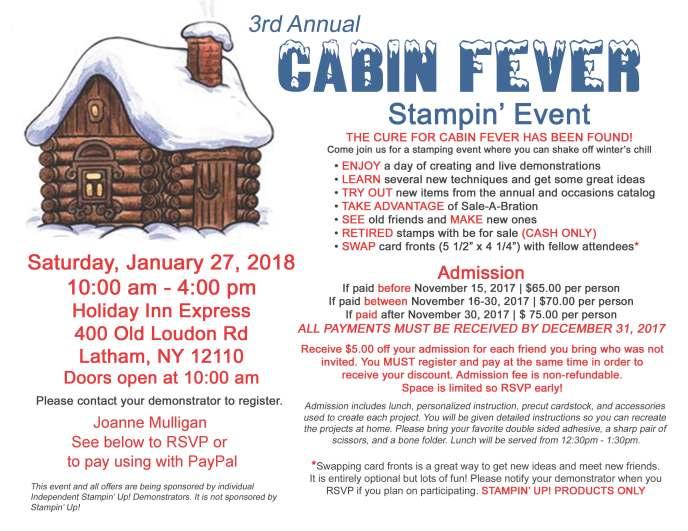cabin fever 2018 - Jo Website