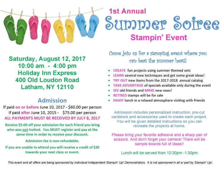 Summer Soiree Flyer - Website