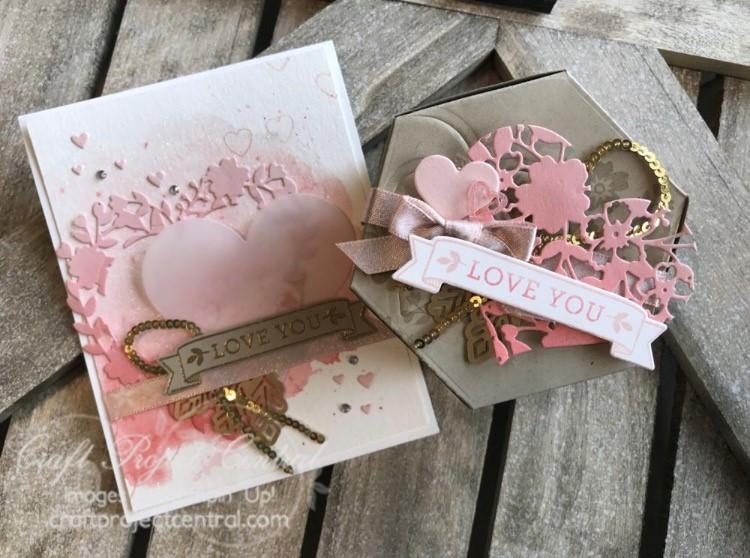 Bloomin Love Window Box Card