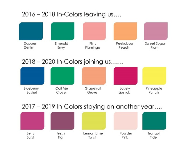 2018 In Colors